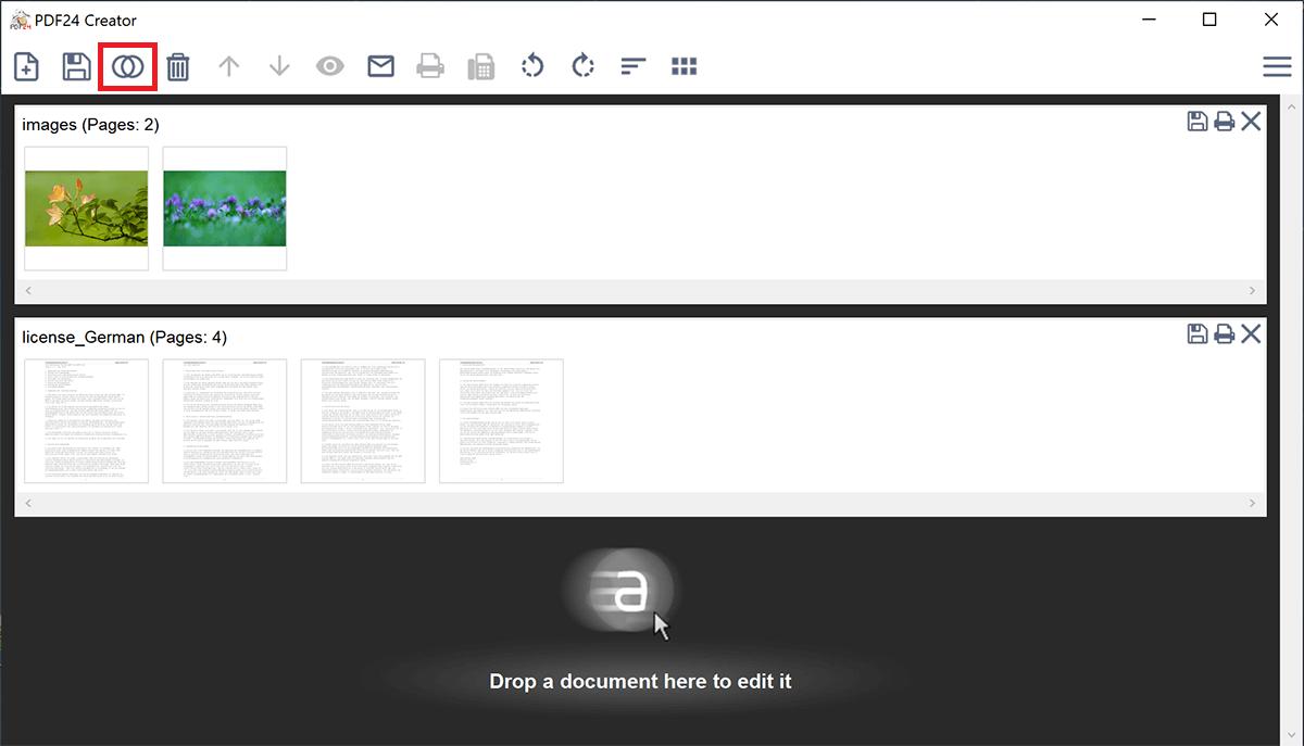 PDF zusammenfügen war noch nie so leicht