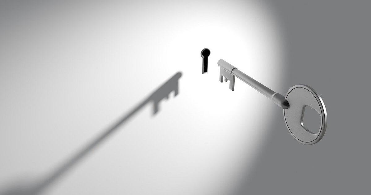 Mit dem richtigen Schlüssel Zugang verschaffen